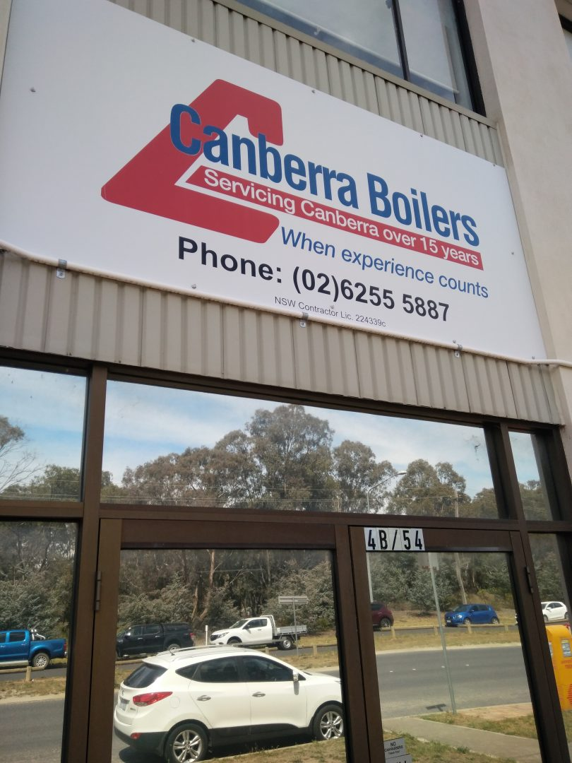 Canberra Boilers