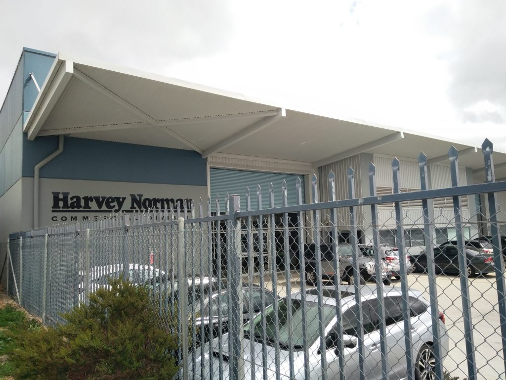 Harvey Norman Commercial Division ACT