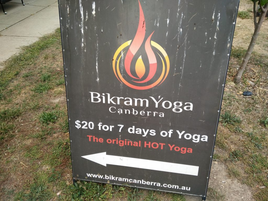 Bikram Yoga Canberra