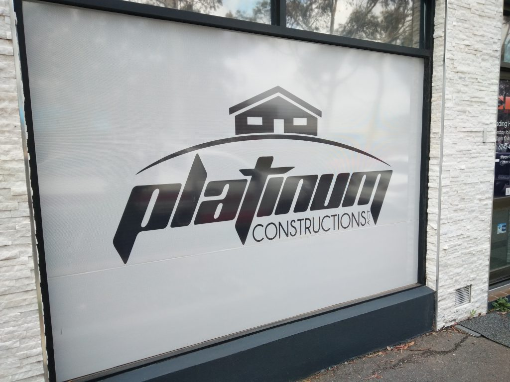 Platinum Constructions ACT